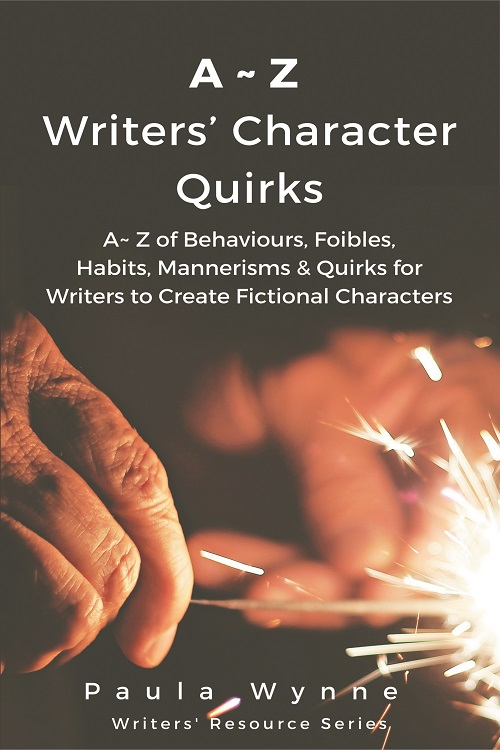 A~Z Writers' Character Quirks