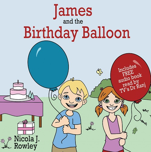 Win James and the Birthday Balloon Children's Book