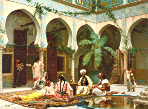 How Women Lived In Harems