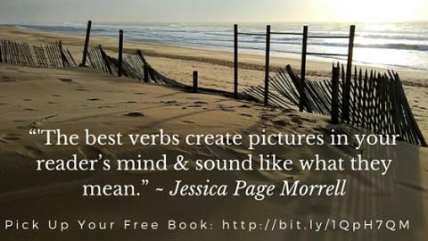 Best Visual Verbs For Writers